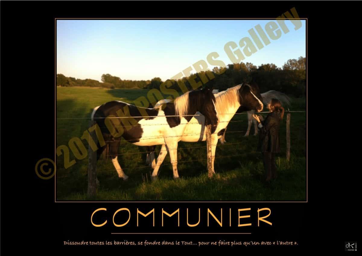 Poster de motivation COMMUNIER © 2017 OK POSTERS Gallery